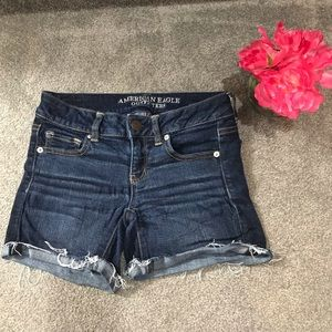 American Eagle Outfitters Cutoff Jean Shorts AEO